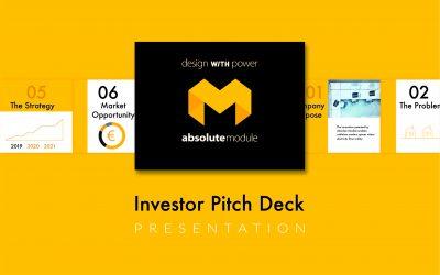 Absolute Module – yrityksen visuaalinen identiteetti