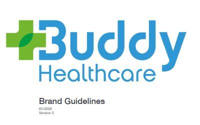 Buddy healthcare – uudistettu brändi ja nettisivukonsepti
